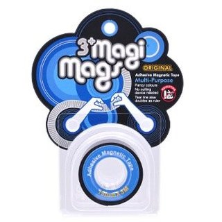 3+ MagiMags Magnetic Tape    19mm x 3M Classic.Blue