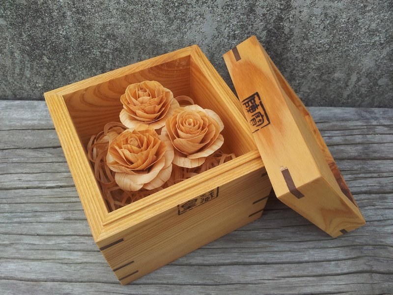 "[. Original wood _ Limited] love you love you "" surprise gift """