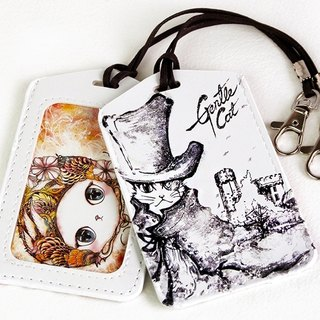 Good meow Universal Card Case - handsome cat Holmes