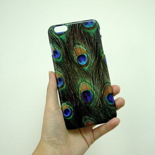Peacock Feather 02 3D Full Wrap Phone Case, available for  iPhone 7, iPhone 7 Plus, iPhone 6s, iPhone 6s Plus, iPhone 5/5s, iPhone 5c, iPhone 4/4s, Samsung Galaxy S7, S7 Edge, S6 Edge Plus, S6, S6 Edge, S5 S4 S3  Samsung Galaxy Note 5, Note 4, Note 3,  Not