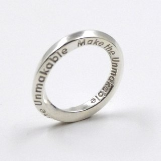 Customized jewelry rings - three-dimensional printing x Infinity Ring x Personalized