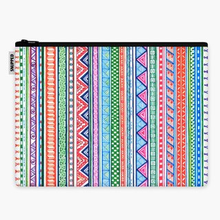 SpaceSuit - Document Pouch - Tribal Color