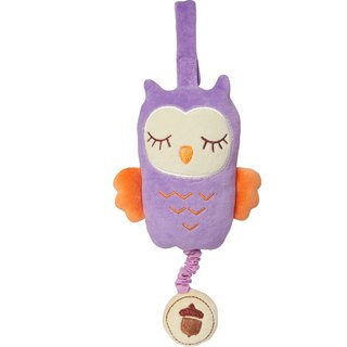 US MyNatural Owl Musical owl music rang the bell - purple