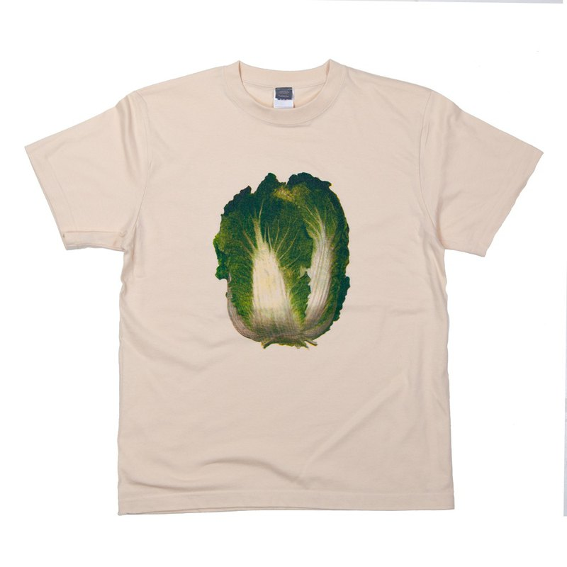 Vegetable Series Chinese cabbage fun T-shirt S ~ XL size Tcollector