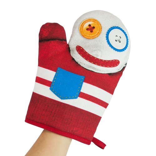 Mustard insulated gloves | dolls