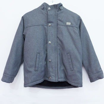 andywawa Plaid woven cotton gray cotton jacket shop