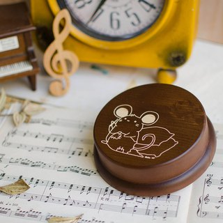 【Birthday gifts, souvenirs, Christmas gifts】 Zodiac pig customization / / music box