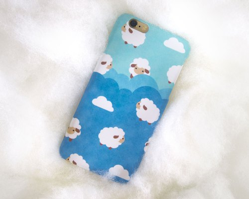 Fluffy sheep iPhone case