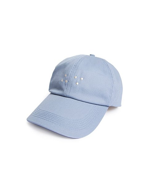 Recovery Braille Because so embroidered hat (light blue)