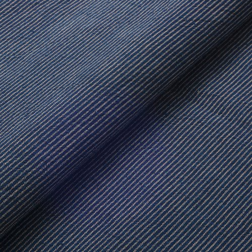 Daimyo-striped indigo navy blue