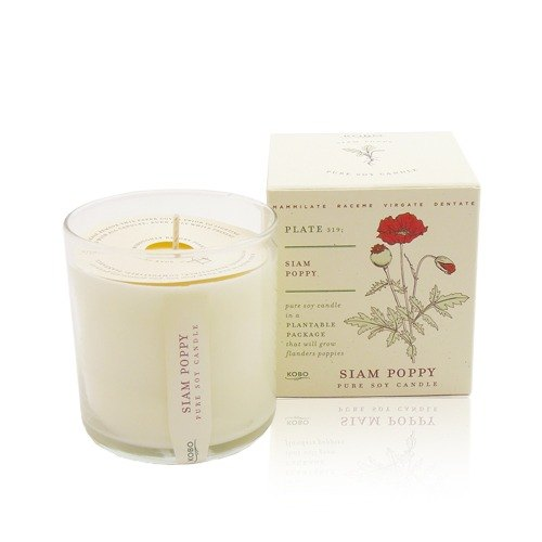 [KOBO - US soybean oil candles - Sensation Beauty (280g / combustible 60hr)