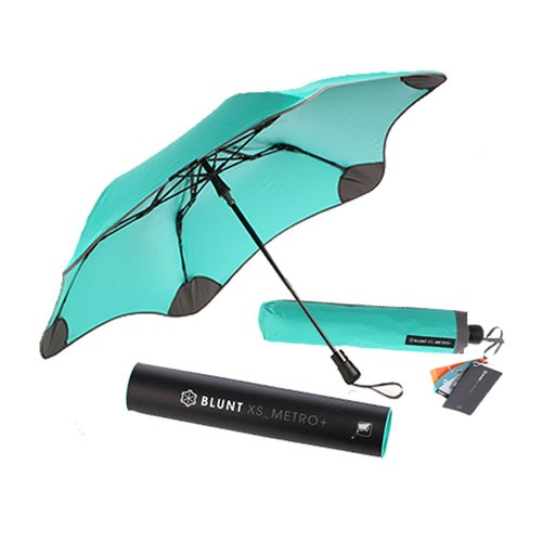 [BLUNT Paul Lent] XS_METRO anti-strong wind completely anti-UV beauty parachute - Tiffany green