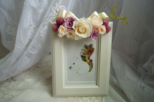 Romantic Rose Photo Frame