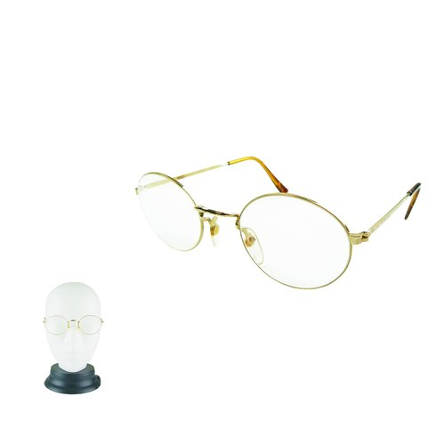 A · PRANK: DOLLY :: VINTAGE retro with fine old product rim glasses (B)