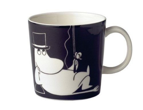 Northern Europe and Finland Arabia Moominpappa mug 0.3L
