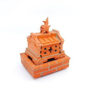 Three and tile kiln - light incense burner (gift)