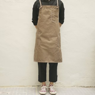 Structural Stitching Apron Canvas
