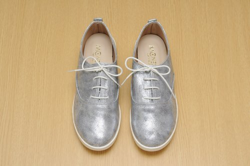 MCNelly Korea handmade shoes Raconta - Silver