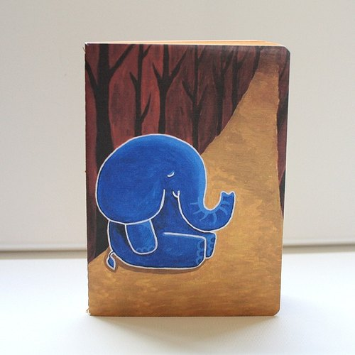 Large notebook | forest elephant