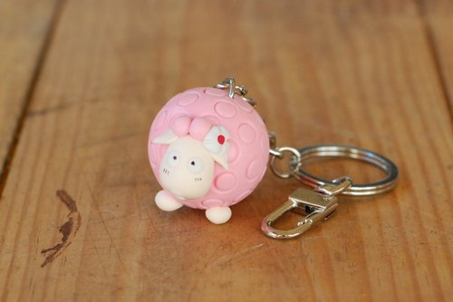 Love the little baa series - key ring