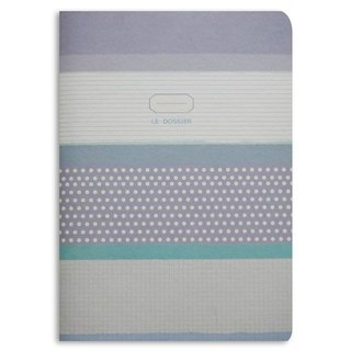 NOTEBOOK CHECKERED-BLUE