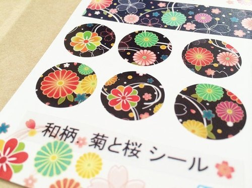 And handle. The Chrysanthemum and the cherry roundel sticker