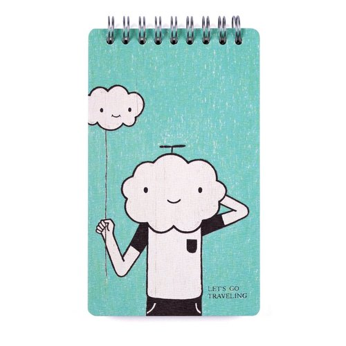 Illustration Notebook / Take me to travel
