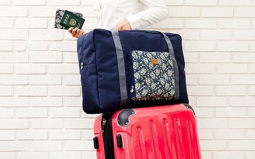 ARDIUM Something New Travel Folding Storage bag - dark blue cherry