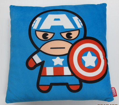 Captain America Hero Q version of the small pillow