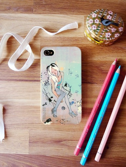 Alice ♡ in Wonderland Limited phone shell iphone 4 / 4S