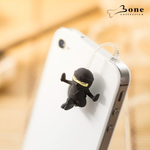 Charm Plug Jumping Headphone Dust Plug - Ninja