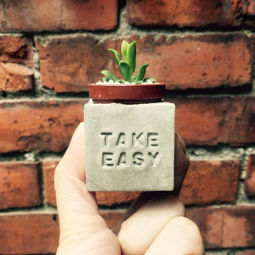 Take Easy !! (Relax ~!) Magnet pot