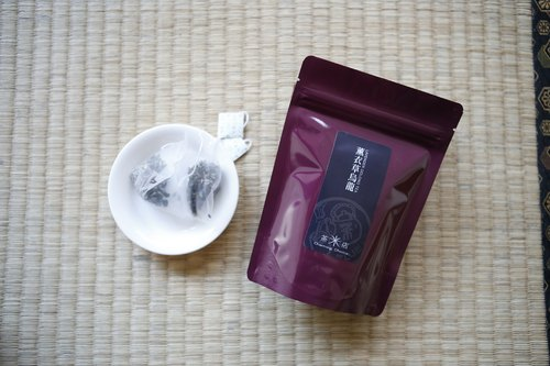Oolong tea] [Midian lavender tea bags 10 bags into the three-dimensional triangle