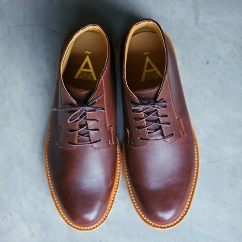A ROOM MODEL - │ SHOES COLLECTION │ 003- brown leather shoes, high integration