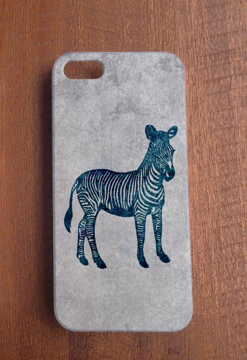 Restart - cool zebra phone protective shell