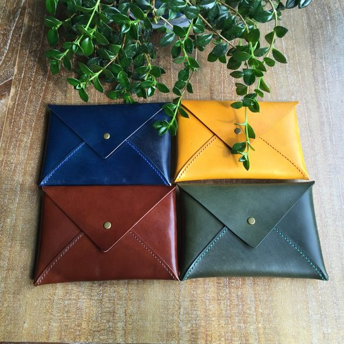 Kindle Ipad Air Mini handmade leather envelope bag protective sleeve holster