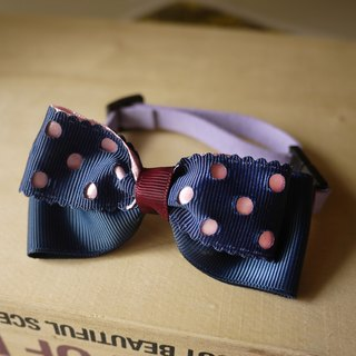 Safety x pet collar blue waters of cats and dogs / Collar / tie / Jojo ♥ cherry pudding Cherry Pudding ♥