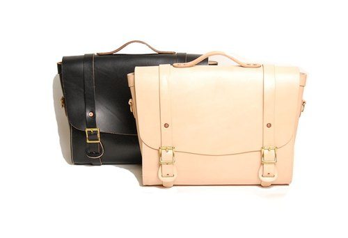 LEATHER SHOULDER BAG - Leather Shoulder Bag