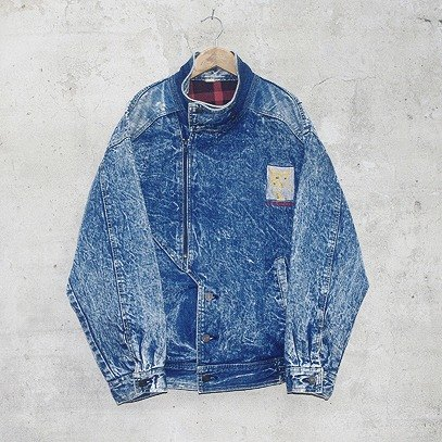 Snowflake denim jacket