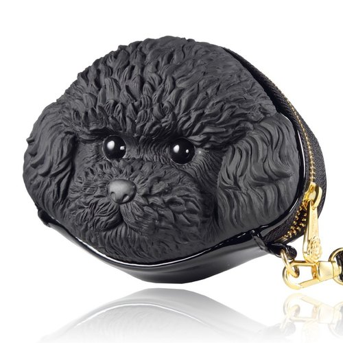 Adamo 3D Bag Original poodle Clutch - Classic Black