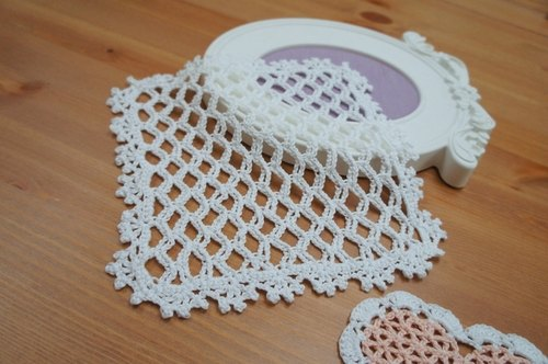 Elegant woven baskets empty square mat ~