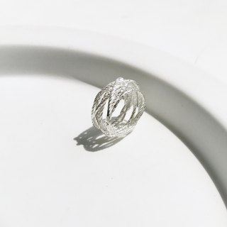 ▪ Rope Ring ▪ Rope Collection ▪ 925 silver