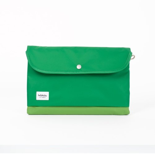 "Hellolulu Tess-11 ""portable handbag (green grass)"