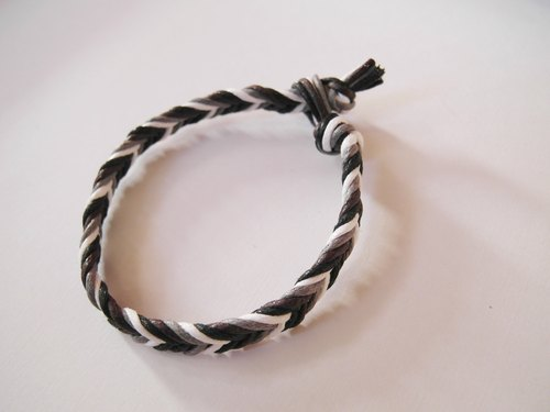 Go to ►►► progressive approach - rough version neutral style / hand-woven bracelet ◄◄◄ buy