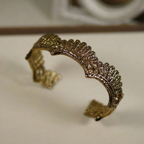 [* Charlene ‧ gold lace bracelet jewelry sector]