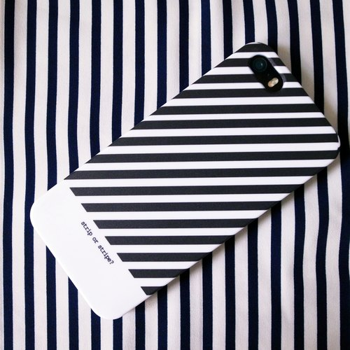 STRIP / STRIPE? Striped custom iphone mobile phone shell phonecase