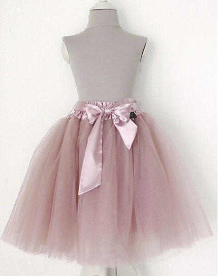 2015 new pink pale pinkish gray sand Long Peng skirt / dusty pink TUTU (big boy)