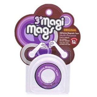 3+ MagiMags Magnetic Tape    19mm x 3M Neon.Purple