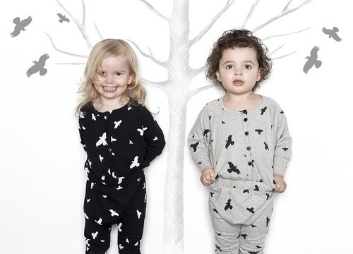 2014 autumn and winter mói duck crossing jumpsuit full version (black / gray) / jumpsuit