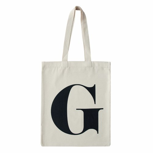 Alphabet Bags Tote letter [G] (Production UK / free shipping)